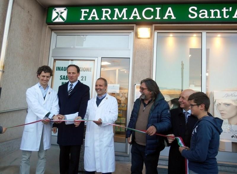 Inaugurazione Farmacia Sant'Andrea di Borgo San Dalmazzo